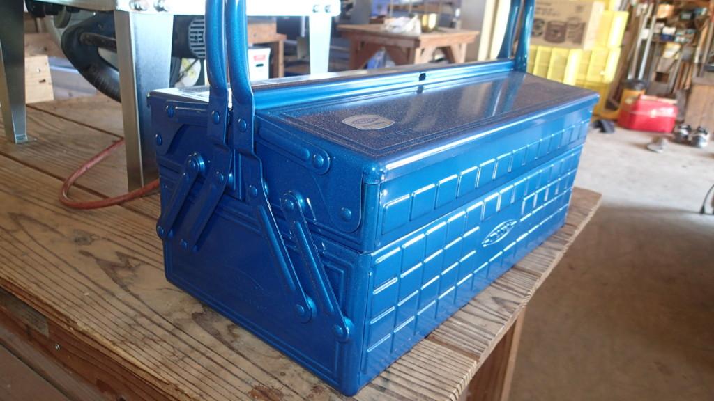 東洋スチールの工具箱